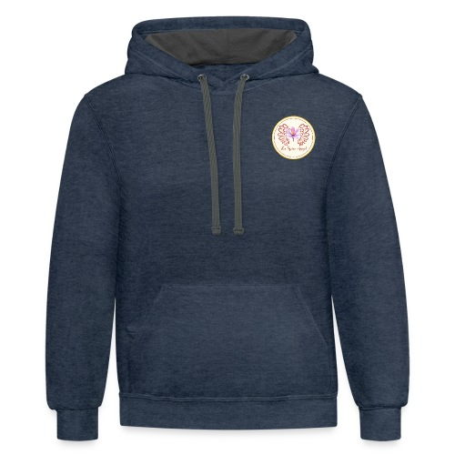 TSA12 without name - Unisex Contrast Hoodie