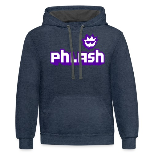 phlash itch - Contrast Hoodie
