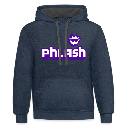phlash itch - Unisex Contrast Hoodie