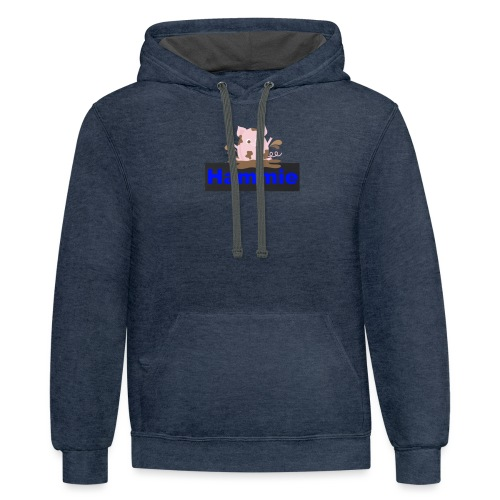 Hammie Join the Mudpile - Contrast Hoodie