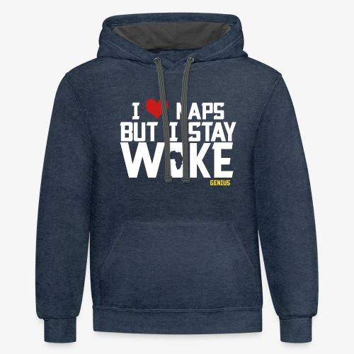 No Naps - Contrast Hoodie