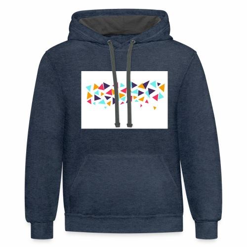 T shirt - Contrast Hoodie