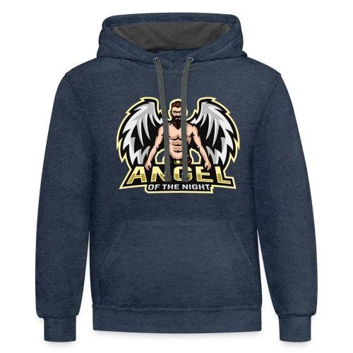AngeloftheNight091 T-Shirt - Contrast Hoodie