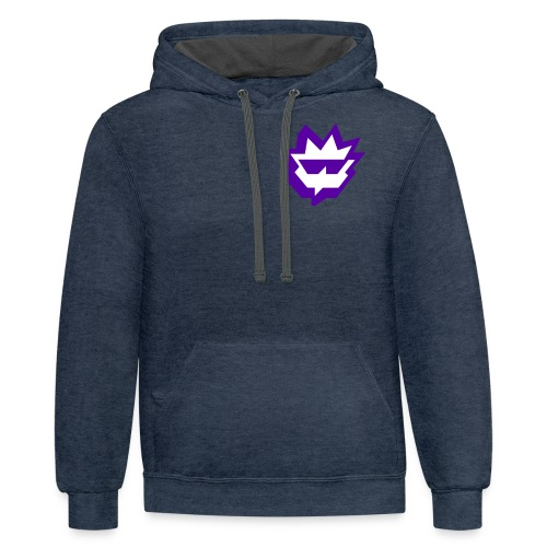 Phlash crest Twitch - Contrast Hoodie
