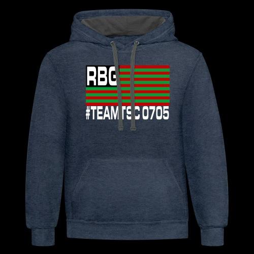 TeamTSC RBGFlag 2 - Contrast Hoodie