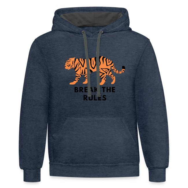 Tiger Print Unisex T-shirts and Hoodies