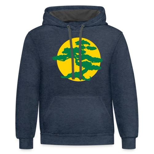 Bonsai Tree - Contrast Hoodie