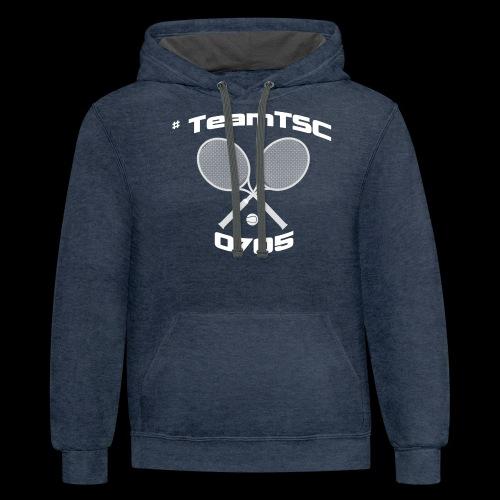 TSC Tennis - Contrast Hoodie