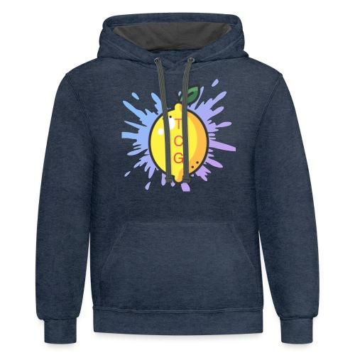 lemon splash- TCG - Contrast Hoodie
