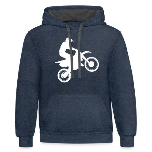 Motocross - Contrast Hoodie