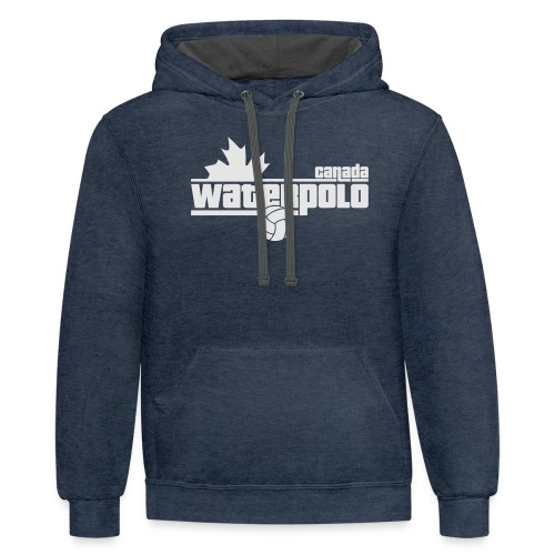 Waterpolo Canada t-shirt - Unisex Contrast Hoodie