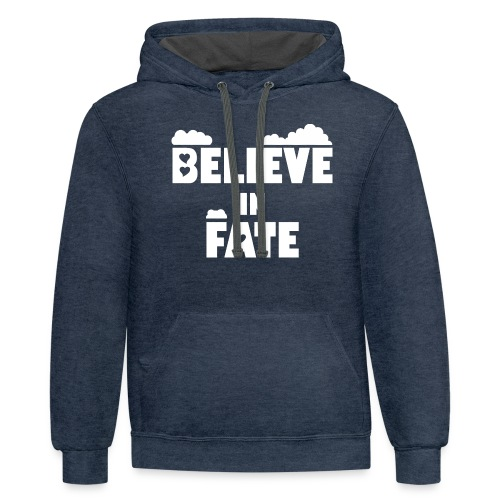 Believe In Fate   Mike Fate - Contrast Hoodie