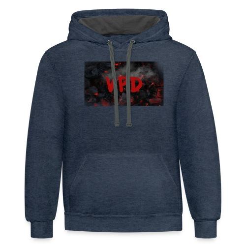 VPD Smoke - Contrast Hoodie