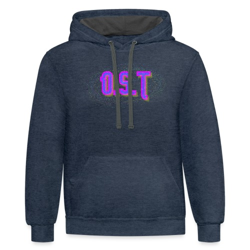 Ost Logo - Unisex Contrast Hoodie