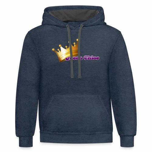 Queen Chloe - Contrast Hoodie