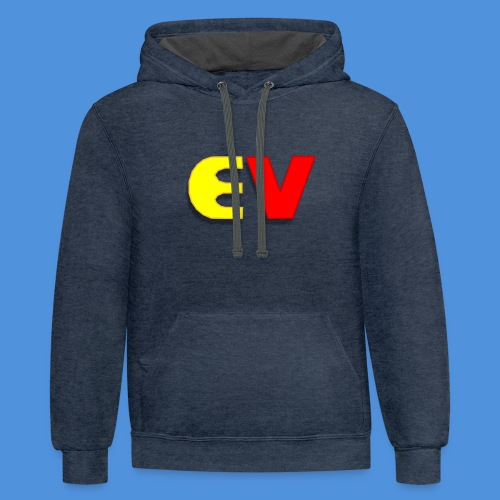 Entoro Vace Logo - Contrast Hoodie