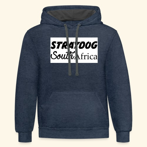straydog clothing - Contrast Hoodie