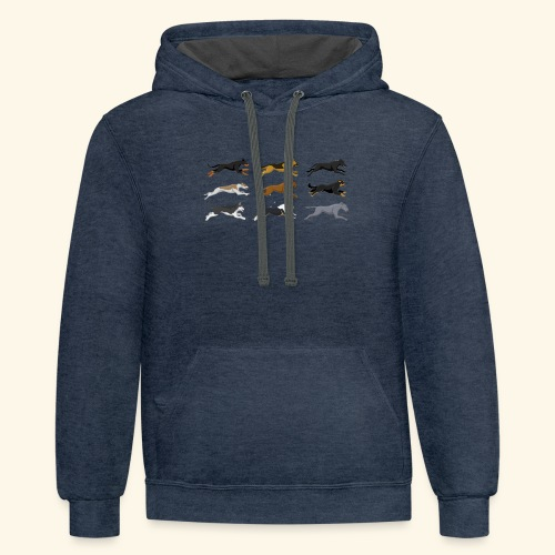 The Starting Nine - Contrast Hoodie