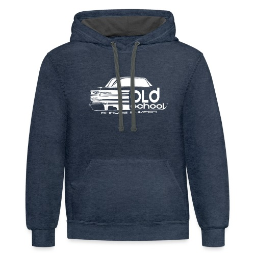 xy silo - Contrast Hoodie