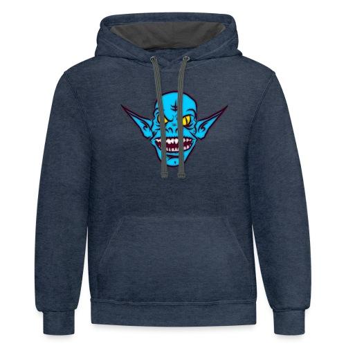 Troll - Contrast Hoodie