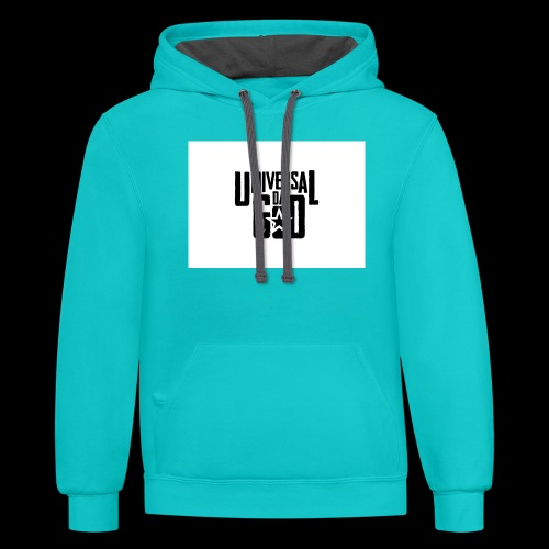 UNIVERSALDAGOD Clothing - Unisex Contrast Hoodie