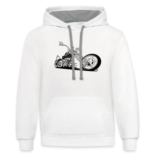 Custom American Chopper Motorcycle - Contrast Hoodie