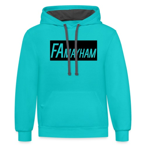 FAmayham - Contrast Hoodie