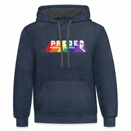 Pride Logo2 - Contrast Hoodie