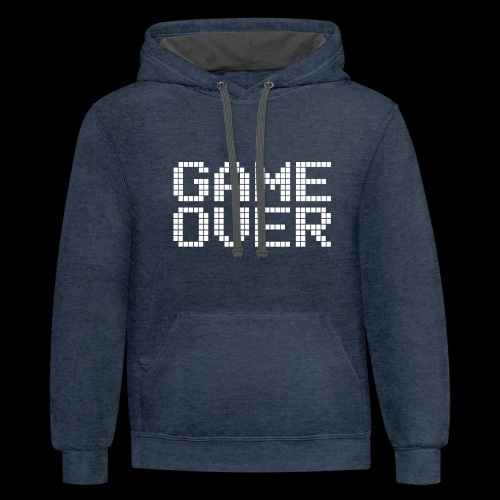 GAME OVER - Contrast Hoodie