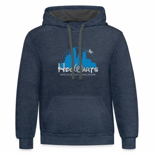 Castle Mashup - Contrast Hoodie