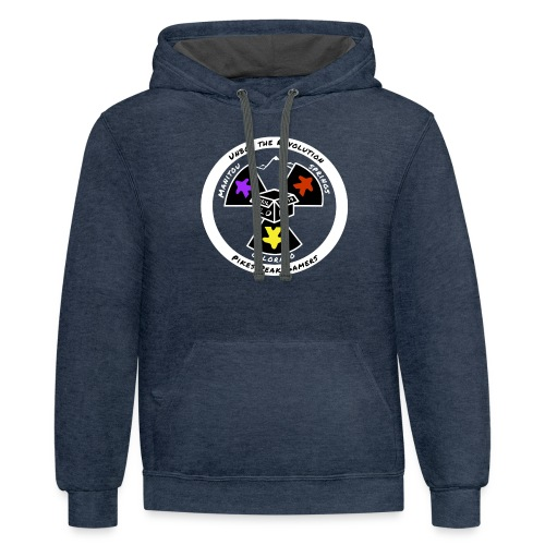 Pikes Peak Gamers Convention 2019 - Clothing - Contrast Hoodie