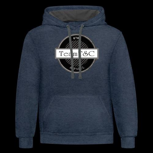 TeamTSC Badge - Contrast Hoodie