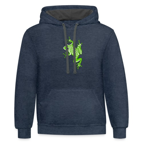 Anglo-Saxon Frog - Contrast Hoodie