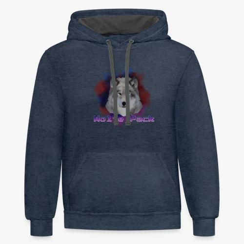 Wolfe Pack - Unisex Contrast Hoodie