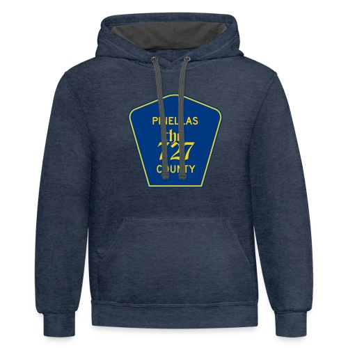 Pinellas the727 County tee - Contrast Hoodie