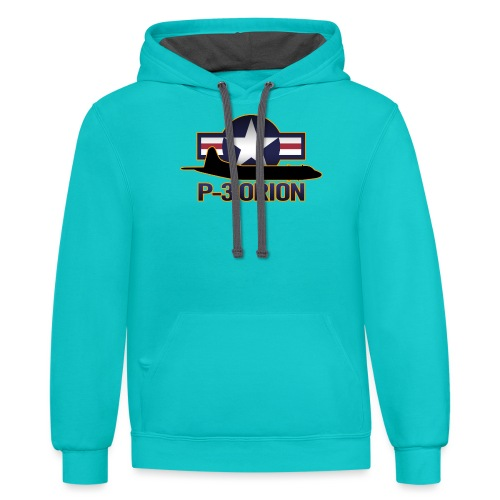 P-3 Orion - Contrast Hoodie
