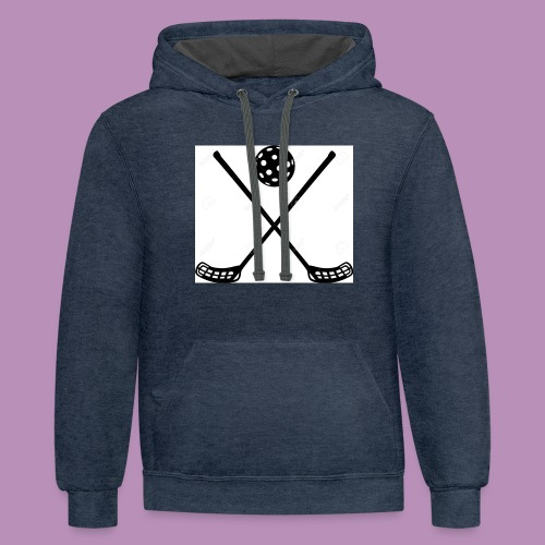 Hockey - Unisex Contrast Hoodie