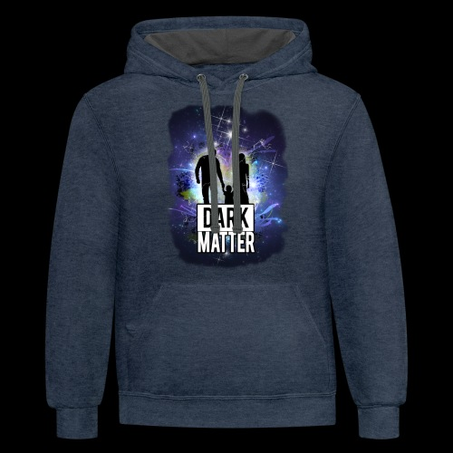 Dark Matter - Unisex Contrast Hoodie