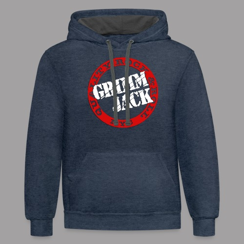 GJ Red White - Contrast Hoodie