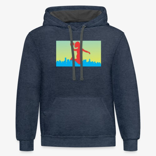 Vancity collection - Unisex Contrast Hoodie