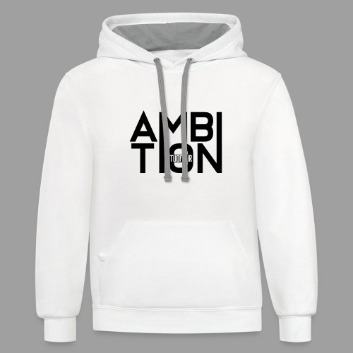 Ambitionitis - Unisex Contrast Hoodie
