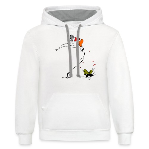 Lady Climber - Unisex Contrast Hoodie