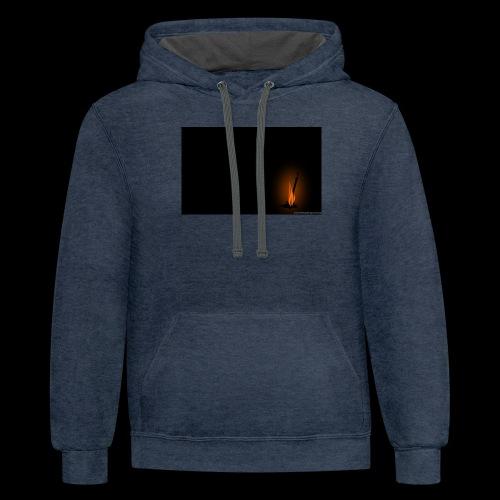 Fire-Links - Contrast Hoodie
