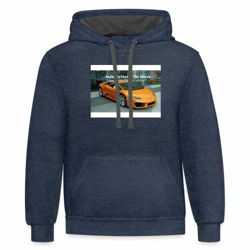 The jackson merch - Contrast Hoodie
