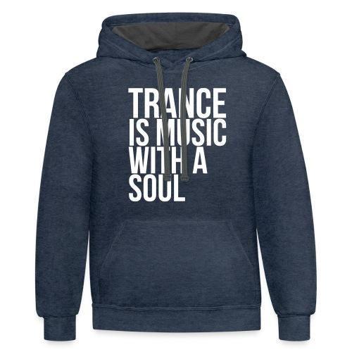 Trance soul - Unisex Contrast Hoodie