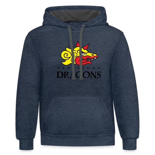 Barcelona Dragons - Unisex Contrast Hoodie