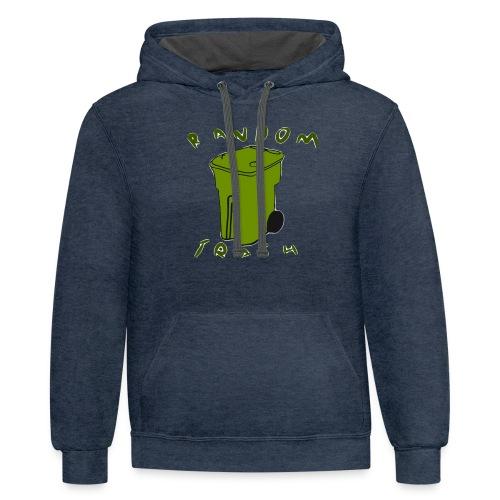 Green traash - Contrast Hoodie
