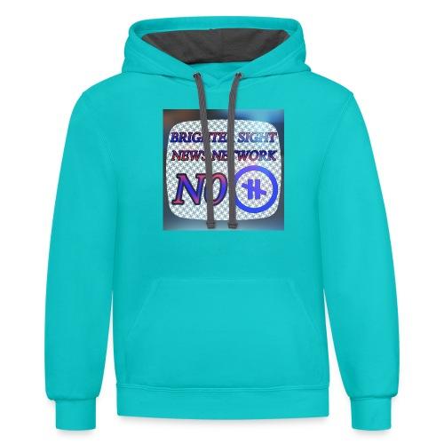 NO PAUSE - Contrast Hoodie