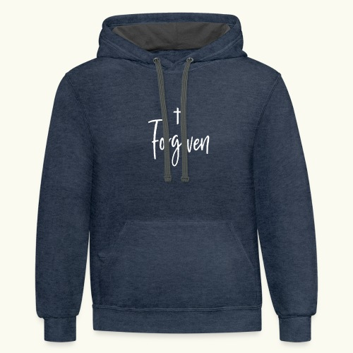 Forgiven - Contrast Hoodie