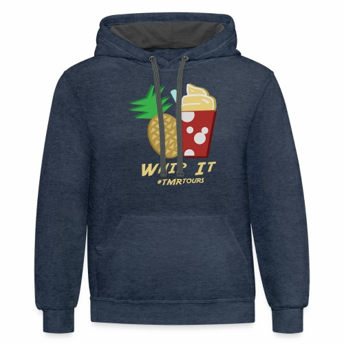 Whip It, Adventure - Contrast Hoodie